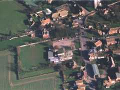 School seen from the air